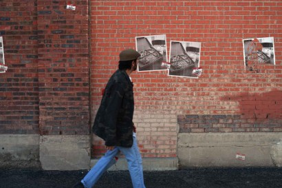 Punk Rock Pizza urban street poster photo